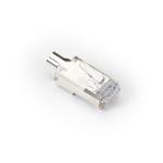 Black Box C6EZSP-STAG-100PAK wire connector RJ-45 Silver