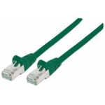 Intellinet 740715 networking cable 1 m Cat7 S/FTP (S-STP) Green