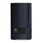 Western Digital My Cloud EX2 Ultra NAS Ethernet LAN Black WDBVBZ0040JCH-EESN