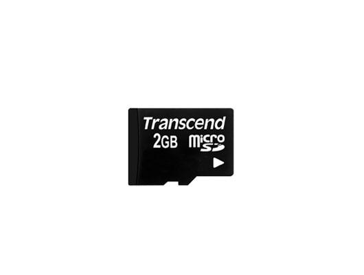 Transcend 2 GB microSD 2GB MicroSD Class 4 memory card