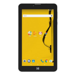 Archos Home 503457 16GB 3G Yellow tablet
