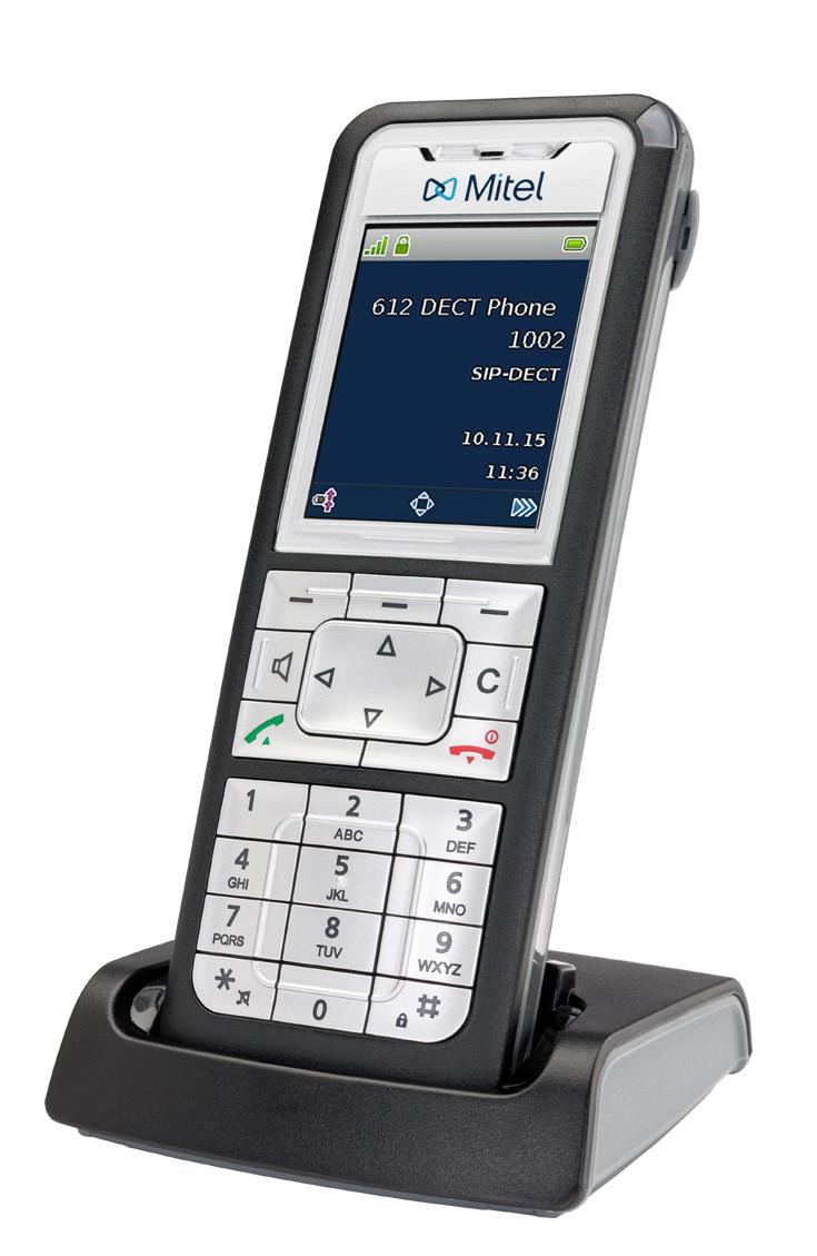 Cordless Dect Phone 612D Set - Handset + Charger + AC