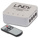 Lindy 70416 audio converter Black,Grey