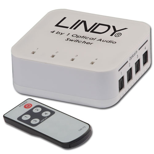 Lindy 70416 audio converter Black, Gray