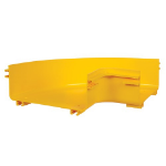 Tripp Lite SRFC10ELBOW Toolless Horizontal 90-Degree Elbow for Fiber Routing System, 240 mm (10 in.)