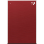 Seagate One Touch external hard drive 5000 GB Red