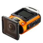 "Ricoh WG-M2 Orange 8MP Full HD CMOS 1/2.3"" Wi-Fi 114g action sports camera"