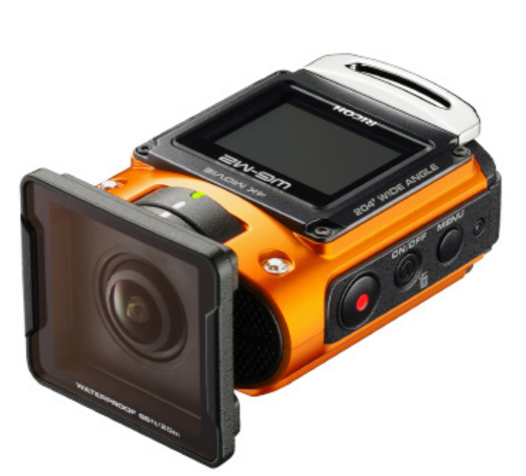 "Ricoh WG-M2 Orange 8MP Full HD 1/2.3"" CMOS Wi-Fi 114g action sports camera"