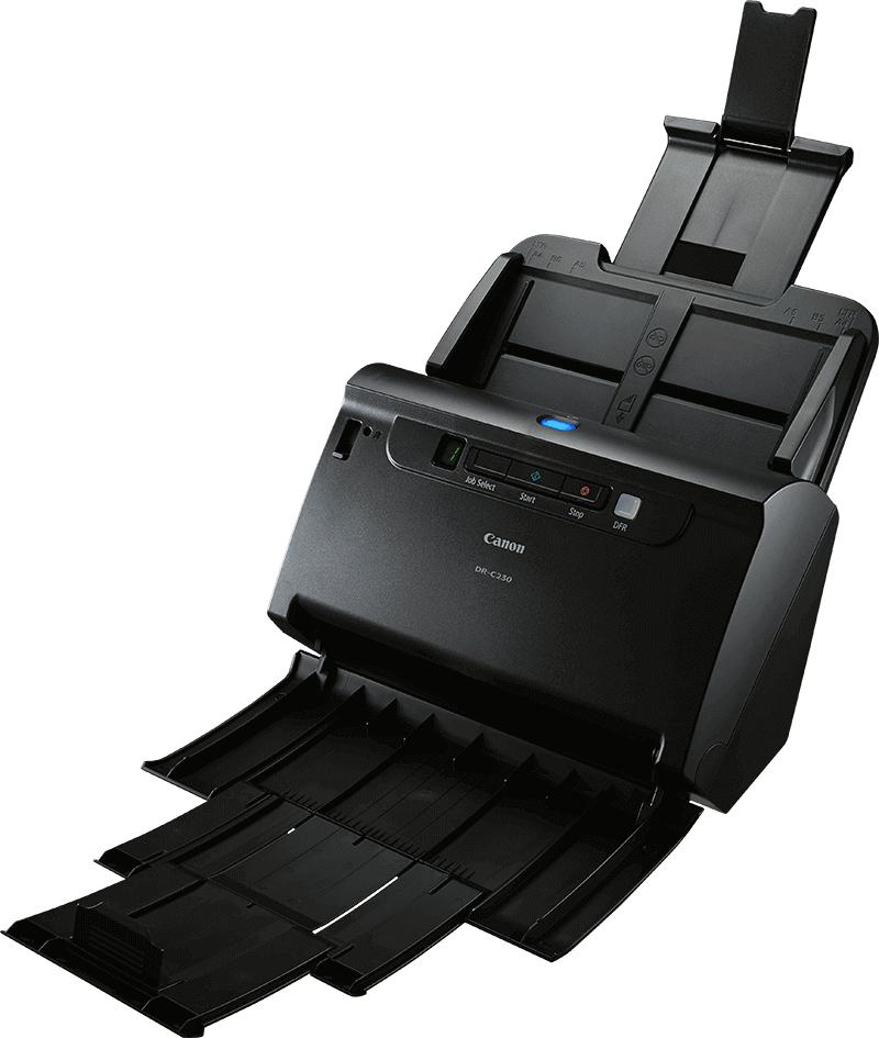 Canon imageFORMULA DR-C230 600 x 600 DPI Sheet-fed scanner Black A4