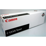 Canon 7629A002 (C-EXV 8) Toner black, 25K pages @ 5% coverage, 530gr