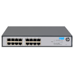 Hewlett Packard Enterprise OfficeConnect 1420 16G Unmanaged L2 Gigabit Ethernet (10/100/1000) 1U Gray