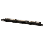 Tripp Lite 24-Port 0.5U Rack-Mount Cat6 / Cat5 110 Patch Panel 568B, RJ45 Ethernet