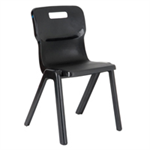 Titan 1 Piece 380mm Charcoal Chair Pack 10