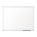 Nobo Basic Melamine Non Magnetic Whiteboard 600x450mm with Basic Trim