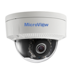 MicroView MVID-02IR-E IP security camera Outdoor Dome Black, White 1920 x 1080pixels