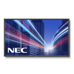 "NEC MultiSync X474HB 119.4 cm (47"") LED Full HD Digital signage flat panel Black"