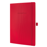 Sigel Conceptum writing notebook A4 194 sheets Red