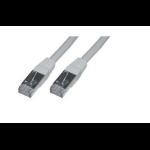 MCL FTP6-3M cable de red Cat6 F/UTP (FTP) Gris