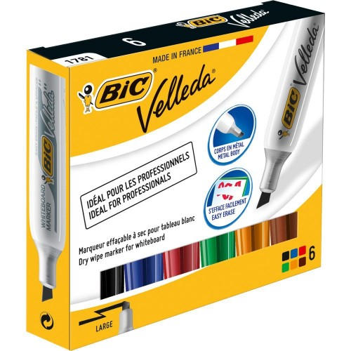 BIC Whiteboard 1781 marker 6 pc(s) Multi