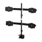 "Amer AMR4C32 flat panel desk mount 81.3 cm (32"") Clamp Black"