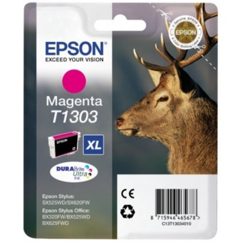 Epson C13T13034022 (T1303) Ink cartridge magenta, 580 pages, 10ml