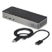 StarTech.com DK31C3HDPDUE base para portátil y replicador de puertos Alámbrico USB 3.2 Gen 2 (3.1 Gen 2) Type-C Negro, Gris