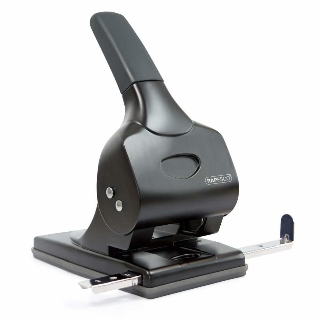 Rapesco ALU 65 Metal Black Flat clinch