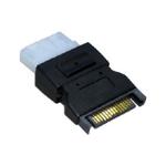 4-Pin Molex (F) to SATA Power (M) Internal Adapter