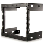 StarTech.com 8U Open Frame Wall Mount Equipment Rack - 12in Deep RK812WALLO