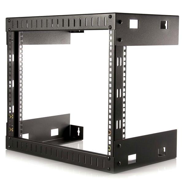 StarTech.com Rack de Acero Horizontal de Marco Abierto - 8U de 12 Pulgadas de Profundidad