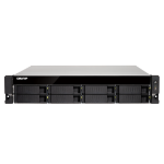QNAP TS-873U-RP Ethernet LAN Rack (2U) Zwart NAS