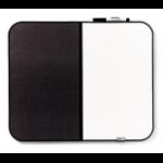 3M Message Board Black,White