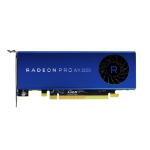 AMD Radeon Pro WX 3100 4 GB GDDR5