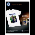 HP Transferpapier zum Aufbügeln - 12 Blatt/A4/210 x 297 mm