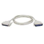 Tripp Lite Parallel Printer Cable, Bi-Directional (DB25 to Cen36 M/M), 10-ft.