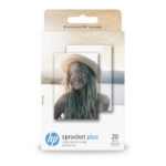 HP Sprocket Plus Fotopapier Weiß Glanz