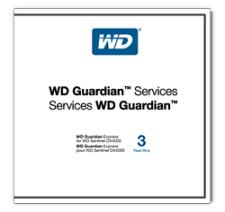 Western Digital Guardian Express, 3Y