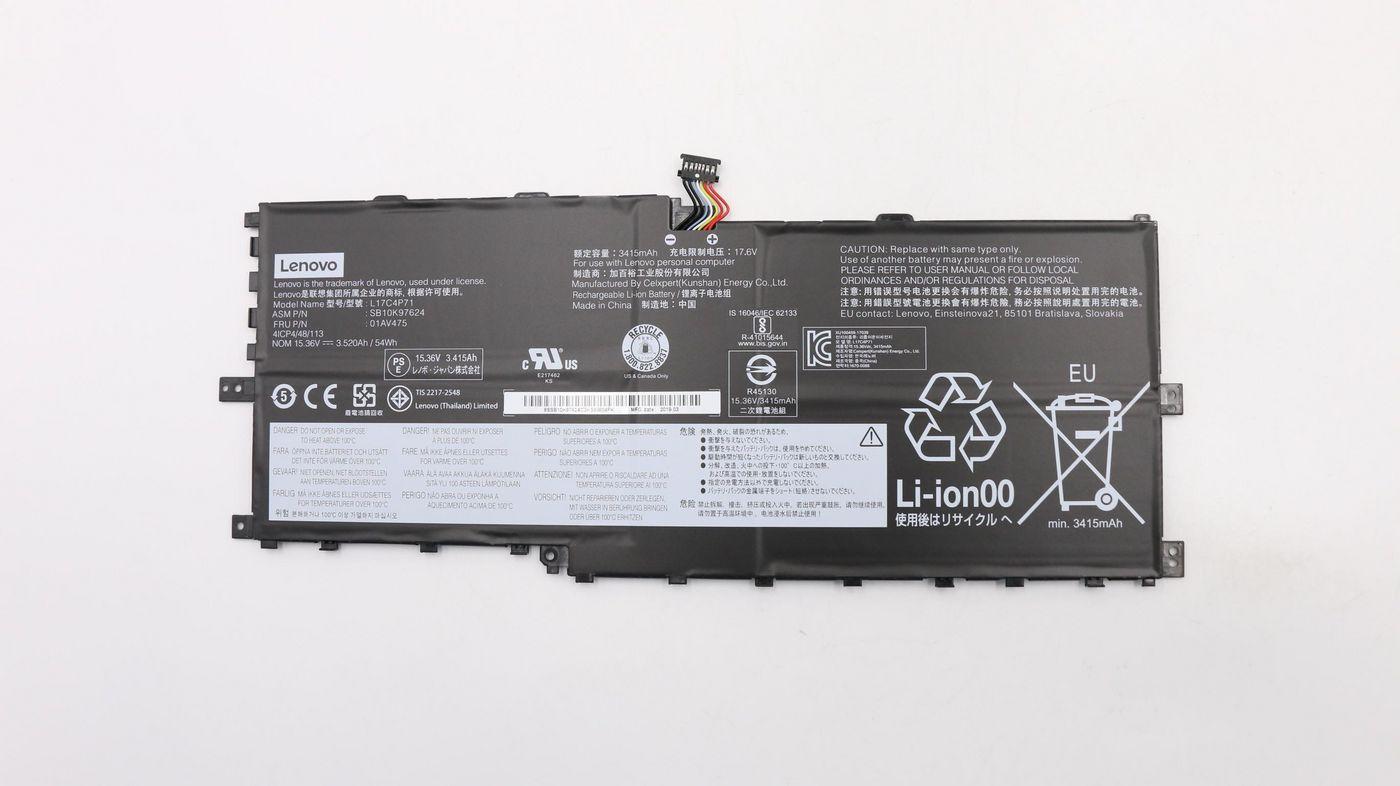 Lenovo Battery Pack LI CELXPERT 01AV475, Battery, Lenovo - Approx 1-3 working day lead.