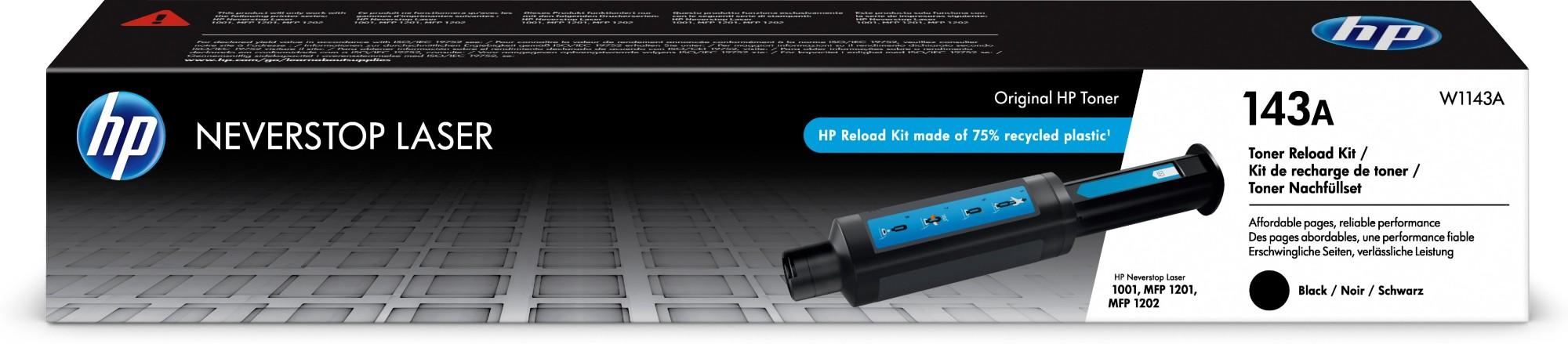 HP 143A Original Negro 1 pieza(s)