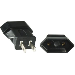 Microconnect PEAUSEUF power cable Black NEMA 1-15P