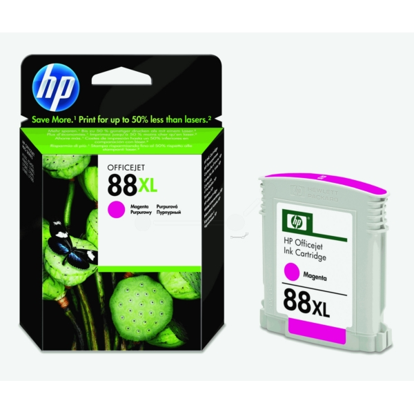 HP C9392AE (88XL) Ink cartridge magenta, 1.98K pages, 17ml