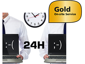 Dynabook 4 years International Gold On-site Repair Service including Warranty Extension and Hard Drive Retention