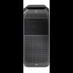 HP Z4 G4 DDR4-SDRAM W-2225 Tower Intel® Xeon® W 32 GB 512 GB SSD Windows 10 Pro for Workstations Arbeitsstation Schwarz