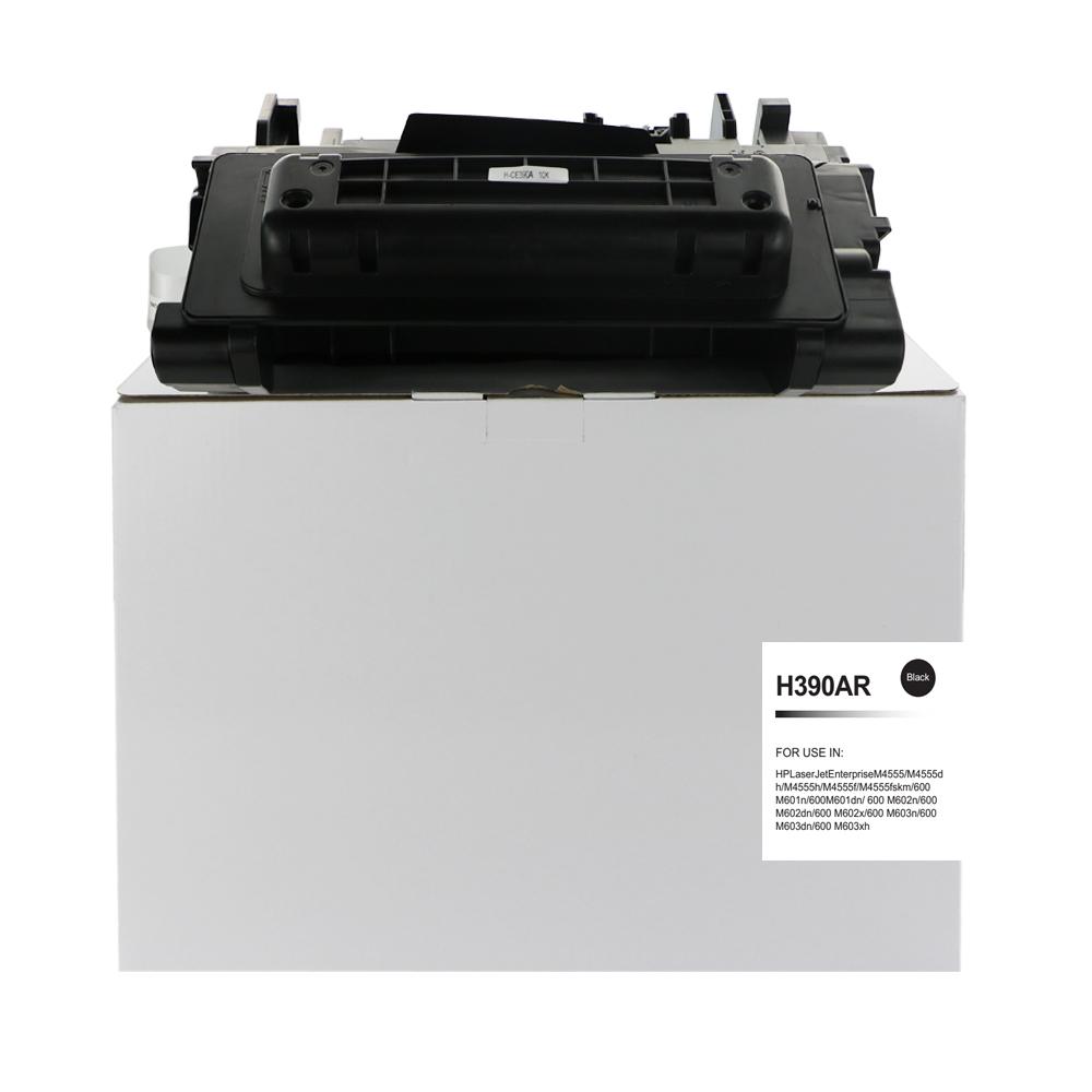 Remanufactured HP CE390A (90A) Black Toner Cartridge