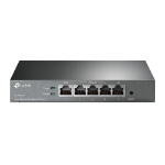 TP-LINK TL-R470T+ wired router Fast Ethernet Black