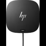 HP 5TW13AA Wired USB 3.2 Gen 1 (3.1 Gen 1) Type-C Black