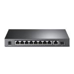 TP-LINK 8-Port 10/100Mbps + 2-Port Gigabit Desktop Switch with 8-Port PoE+