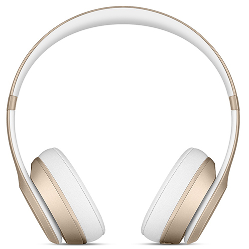Apple Beats Solo 2 Wireless - Gold, On-Ear Headphones, Official by Apple (MKLD2ZM/A)