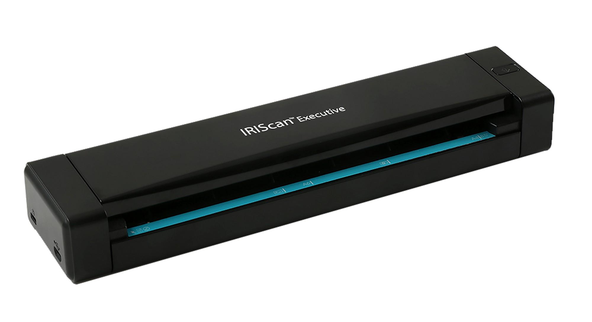 I.R.I.S. IRIScan Executive 4 600 x 600 DPI Escáner alimentado con hojas Negro A4