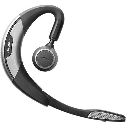Jabra MOTION UC+ MS mobile headset Monaural Ear-hook Black, Grey Wireless